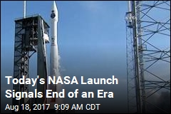 Today's NASA Launch Signals End of an Era