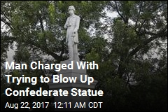 Cops: Man Tried to Blow Up Houston Confederate Statue