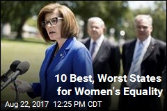 10 Best, Worst States for Women's Equality