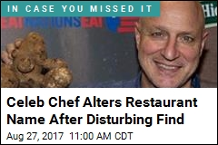 Celeb Chef Changes Restaurant Name After Disturbing Find
