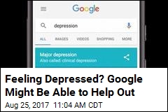 Google Searches About Depression May Lead to Help
