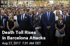 Death Toll Rises in Barcelona Attacks