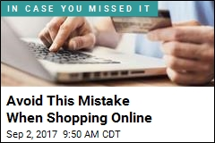 Avoid This Mistake When Shopping Online