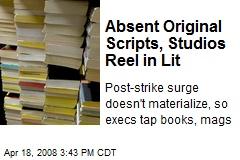 Absent Original Scripts, Studios Reel in Lit