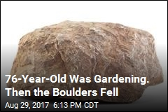 Man Crushed to Death by Falling Boulders in Backyard