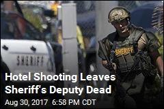 Sheriff's Deputy Fatally Shot in California