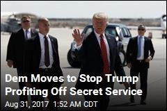 Lawmaker Seeks to Stop Secret Service Paying Trump Businesses
