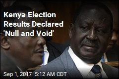 Kenya Election Results Declared 'Null and Void'