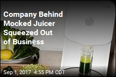 Company Behind Mocked Juicer Squeezed Out of Business