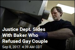 White House Backs Baker Who Wouldn't Make Cake for Gay Couple