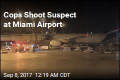 Cops Shoot Suspect at Miami Airport