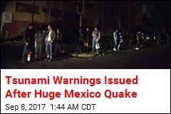 Massive Quake Hits Off Mexico Coast