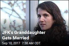 JFK's Granddaughter Gets Married