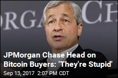 JPMorgan Chase Head on Bitcoin Buyers: 'They're Stupid'