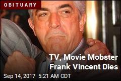 TV, Movie Mobster Frank Vincent Dies