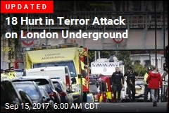Explosion Causes Panic on London Underground