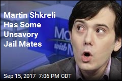 Martin Shkreli Locked Up With Terrorism, Mob Suspects