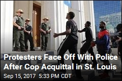 Protesters Face Off With Police After Cop Acquittal in St. Louis