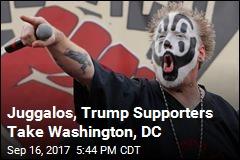 Juggalos, Trump Supporters Take Washington DC