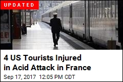 Americans Burned in Acid Attack at French Train Station