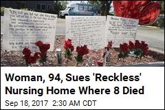 Survivor, 94, Sues Nursing Home Where 8 Died
