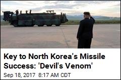 Key to North Korea's Missile Success: a Rare Rocket Fuel