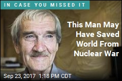His Poise Under Pressure May Have Stopped Nuclear War