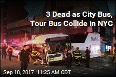 3 Dead as City Bus, Tour Bus Collide in NYC