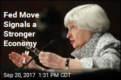 Fed Move Signals a Stronger Economy