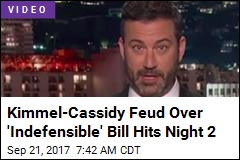 Kimmel Continues Attack on 'Indefensible' Health Care Bill