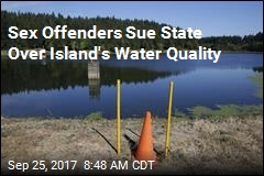 Sex Offenders Sue State Over Island's Water Quality