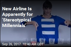 New Airline Is Apparently for 'Stereotypical Millennials'