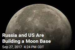 Russia and US Are Building a Moon Base