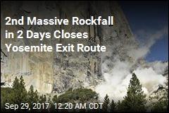 2nd Massive Rockfall Injures Yosemite Climber