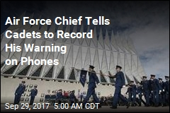 'Grab Your Phones' and Record: Air Force Chief Blasts Racist Cadets