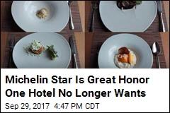 Fancy Scottish Hotel No Longer Wants 'Stressful' Michelin Star