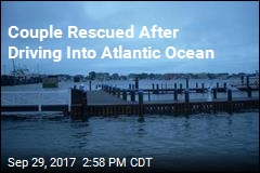 Couple Rescued After Driving Into Atlantic Ocean