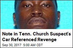 Note in Tenn. Church Suspect's Car Mentioned Roof Massacre