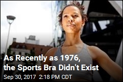 As Recently as 1976, the Sports Bra Didn't Exist