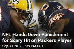 NFL Suspends Bears Player for Scary Hit on Packers Receiver