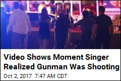 Video Shows Moment Singer Realized Gunman Was Shooting