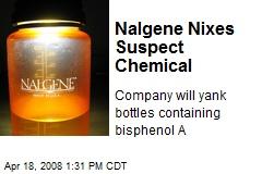 Nalgene Nixes Suspect Chemical