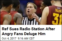 Radio Station Hated This Ref. Now He's Suing