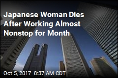 Japanese Woman Dies After Working Almost Nonstop for Month