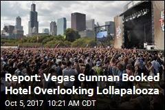 Report: Vegas Gunman Booked Hotel Overlooking Lollapalooza