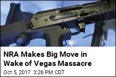 NRA Makes Big Move in Wake of Vegas Massacre