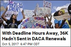 Tens of Thousands Have Yet to Submit DACA Renewals