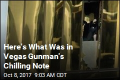 Vegas Gunman's Note Calculated Trajectory for Max Casualties