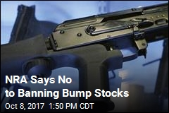 NRA Says No to Banning Bump Stocks