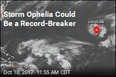 Storm Ophelia Could Be a Record-Breaker